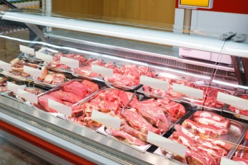 Frozen meat and poultry